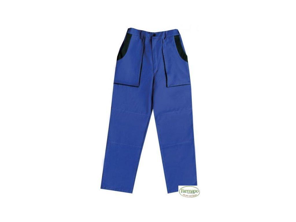Kalhoty do pasu, pánské, modro/černé