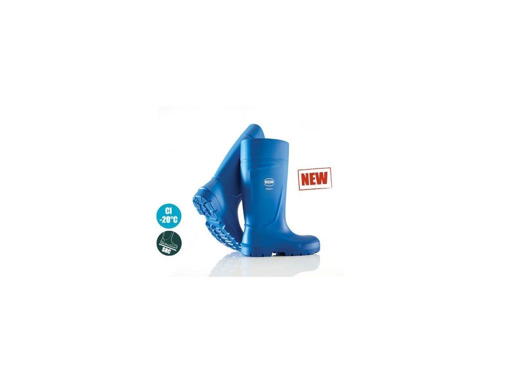 H031P0502 holínky modré