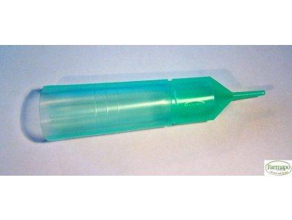 Inseminační tuba zelená s odlamovací špičkou (1000 ks v kartonu)