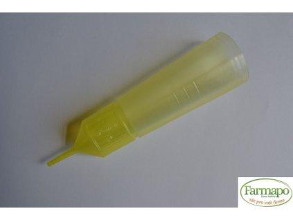 Inseminační tuba žlutá s odlamovací špičkou (1000 ks v kartonu)