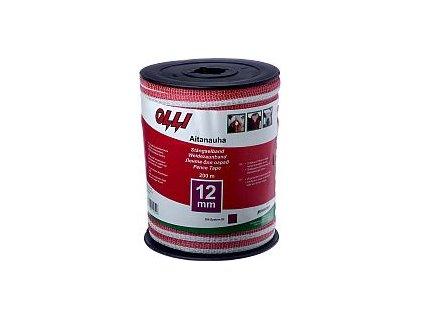 Červeno-bílá páska 12 mm