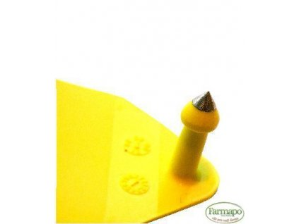 L - plastová ušní známka pro prasnice s jednostranným popisem