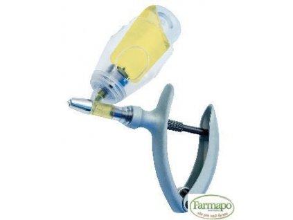 ECO-MATIC injekční automat 2 ml s úchytem na lahvičky, nastavitelné dávkování