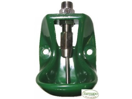 Kompaktní napáječka vyrobená ze silného plastu - kolíková, malá