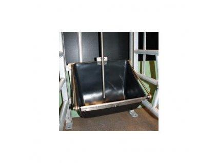 Systém AQUA LEVEL - pouze korýtko pro prasnice, rozměry 53,5 x 41 x 28,5 cm