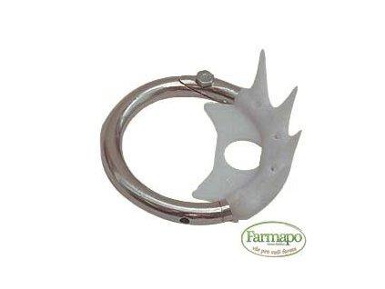 Kruh proti sání z kovu a plastu