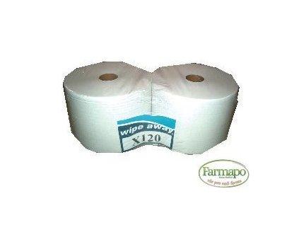 Papírové utěrky na roli, perforované