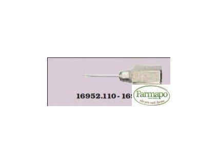 Injekční jehla MUTO 15 nebo 20 mm