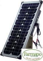 Solární panel 20 W - sada pro bateriové zdroje