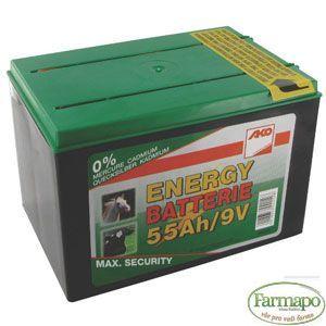 Speciální suchá baterie 9V 55Ah