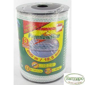 Premium-páska pro pastviny, 12,5mm, 200m