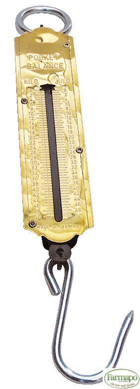 Váha s pružinou mincířová, 50 kg
