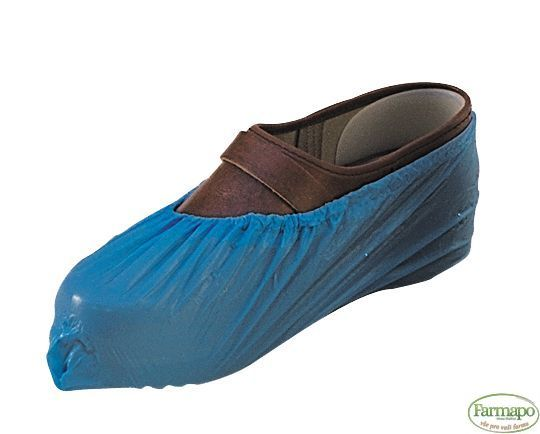 NÁVLEKY na obuv, nízké, modré