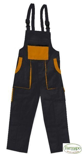 Kalhoty s laclem Velikost: 44, Barva: Černá
