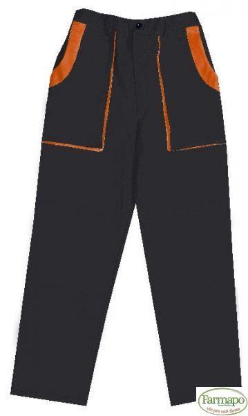 Kalhoty do pasu Velikost: 44, Barva: Černá