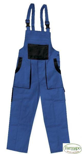 Kalhoty s laclem Velikost: 44, Barva: Modrá