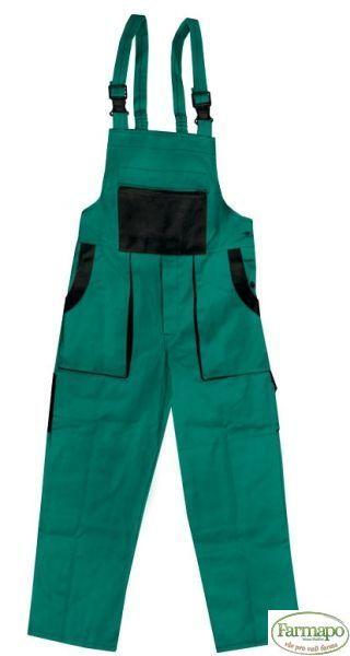 Kalhoty s laclem Velikost: 56, Barva: Zelená