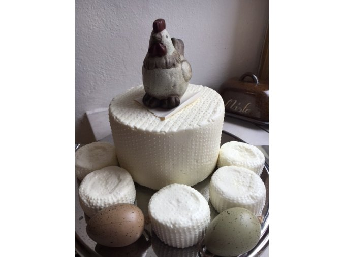 Kozí čerstvý sýr/krájený 1 g