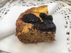 Švestkovo - broskvový koláč