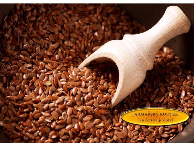 Lněné semínko 5000 g