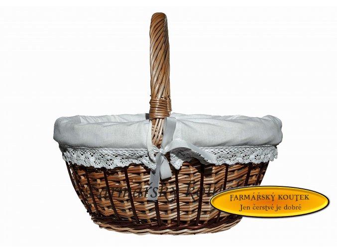 Velikonoční košík s polstrováním