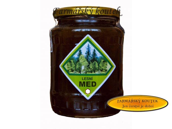 Lesní med z jižních čech
