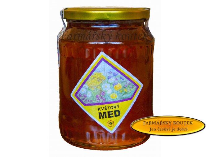 Květový med z jižních čech