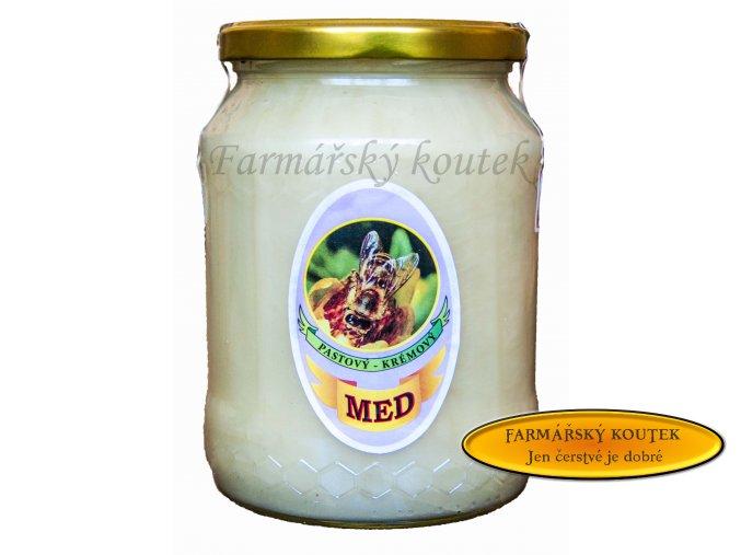 Květový pastovaný med