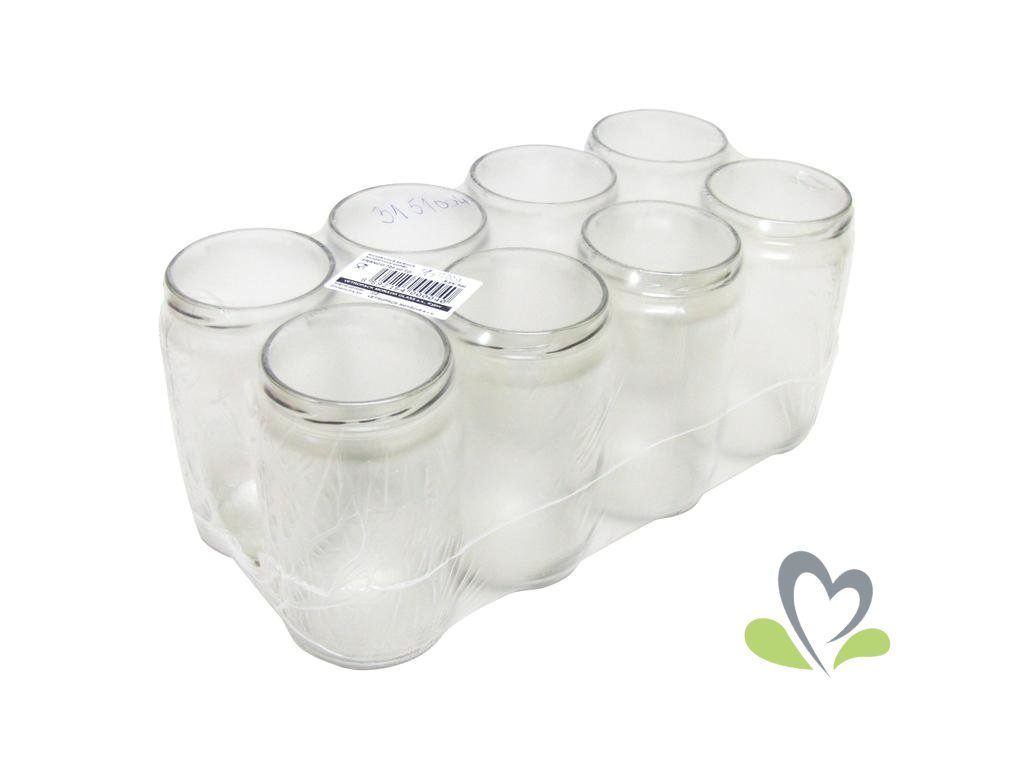 VETROPACK Zavařovací sklenice 720 ml,8ks
