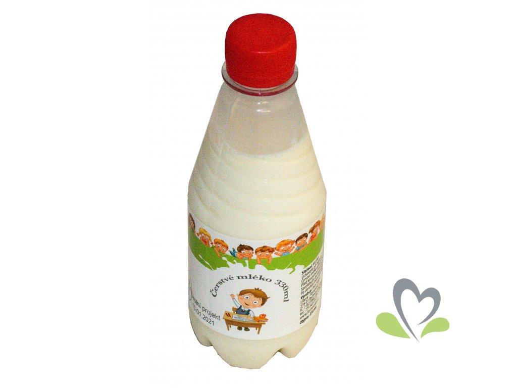 Čerstvé mléko 330 ml