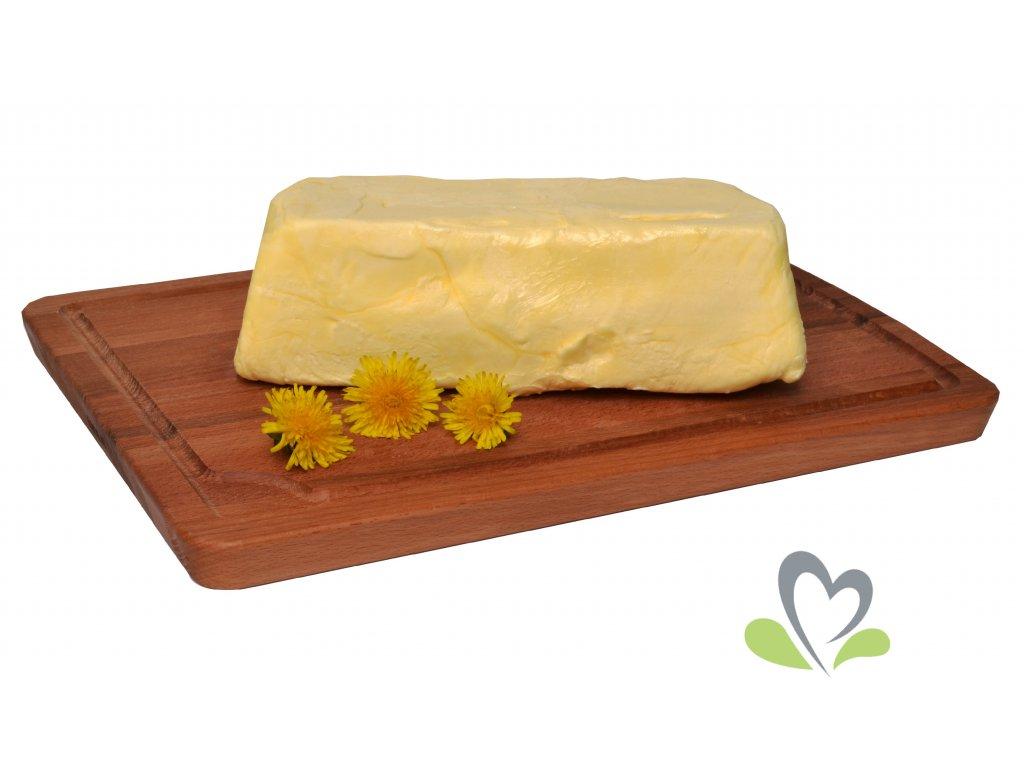 Máslo z Rampuše - vcelku - 1,5 kg - gastro balení