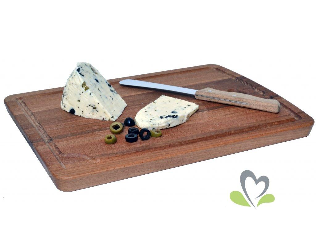 Čerstvý sýr - OLIVOVÝ - cca 200 g