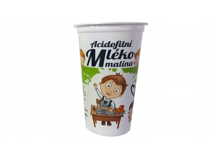 acido mleko malina