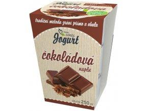 jogurt cokoladova napl plast