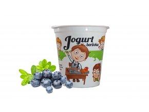 jogurt boruvka