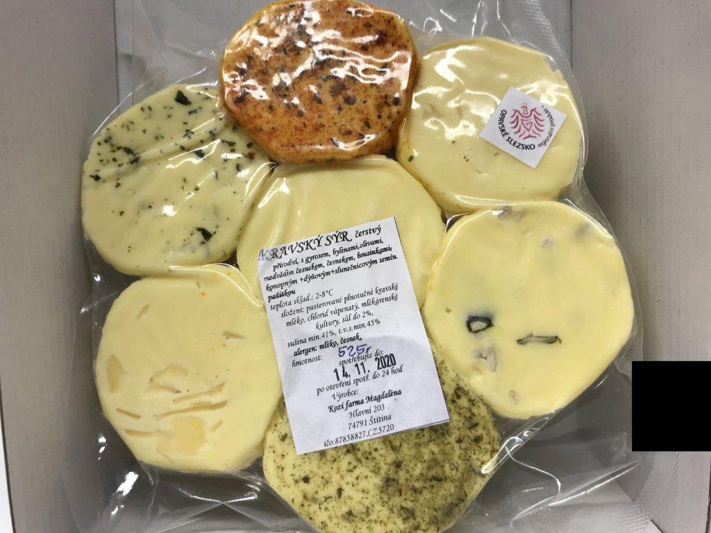 Kravský sýr čerstvý kytka cca 500g