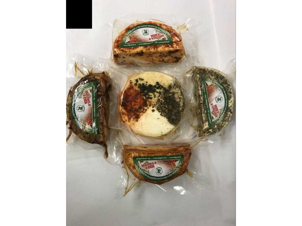 Kravské sýry čtverochuť cca 200g