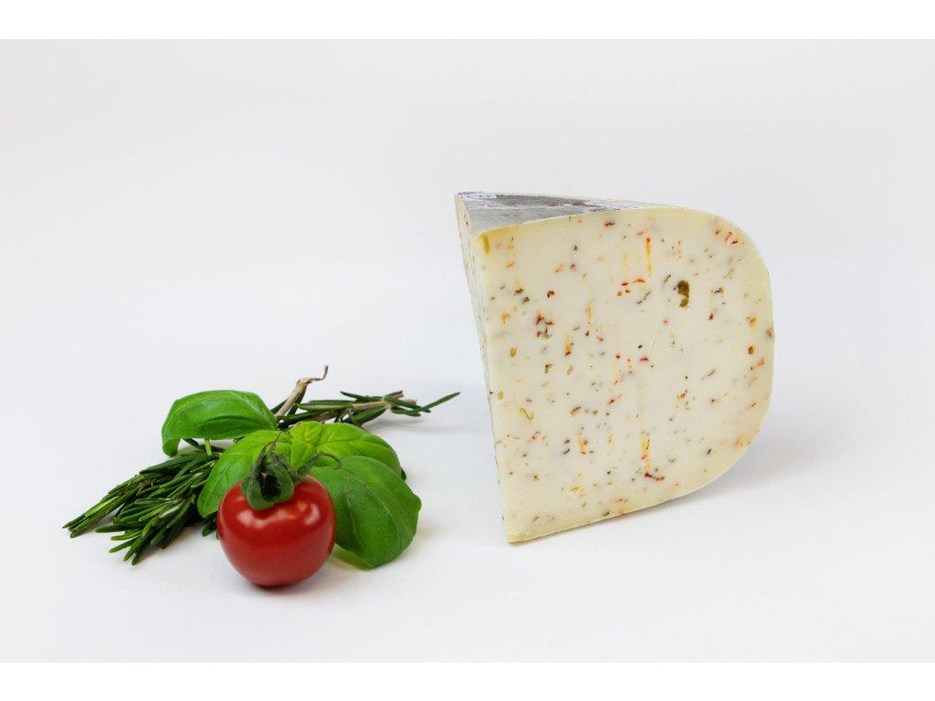 Kozí sýr italské bylinky