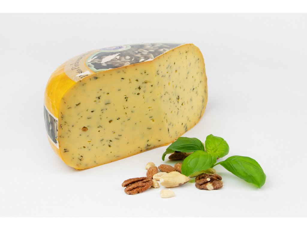 Kravský sýr pistácie