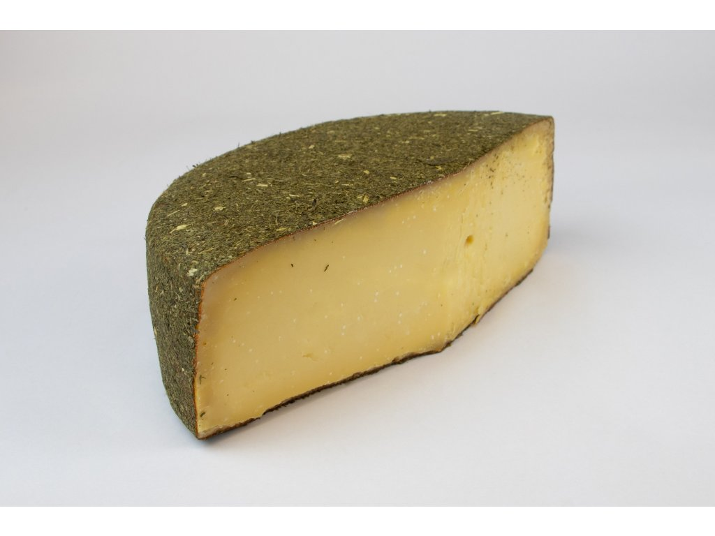 Kravský sýr jetel a med