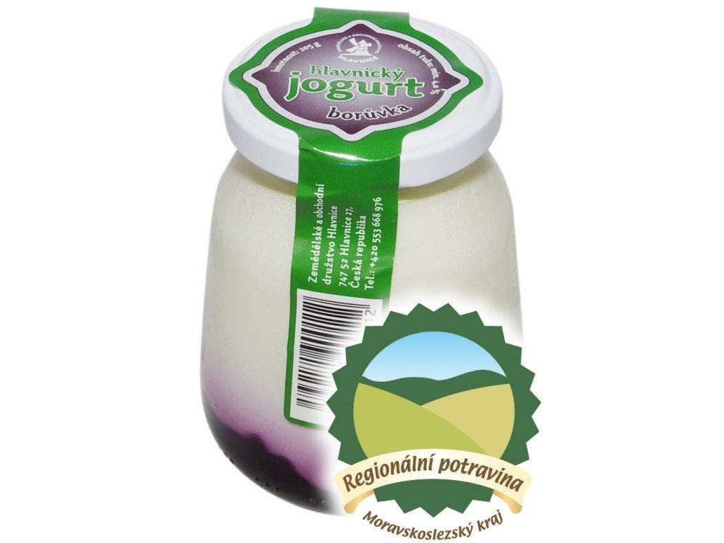 Jogurt Boruvka 200 ml