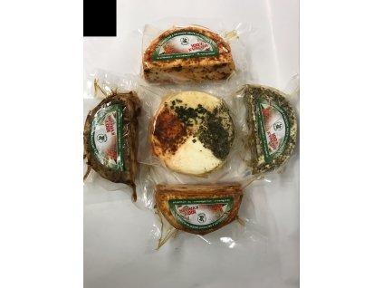 Kravské sýry ochucené půlky cca 100g