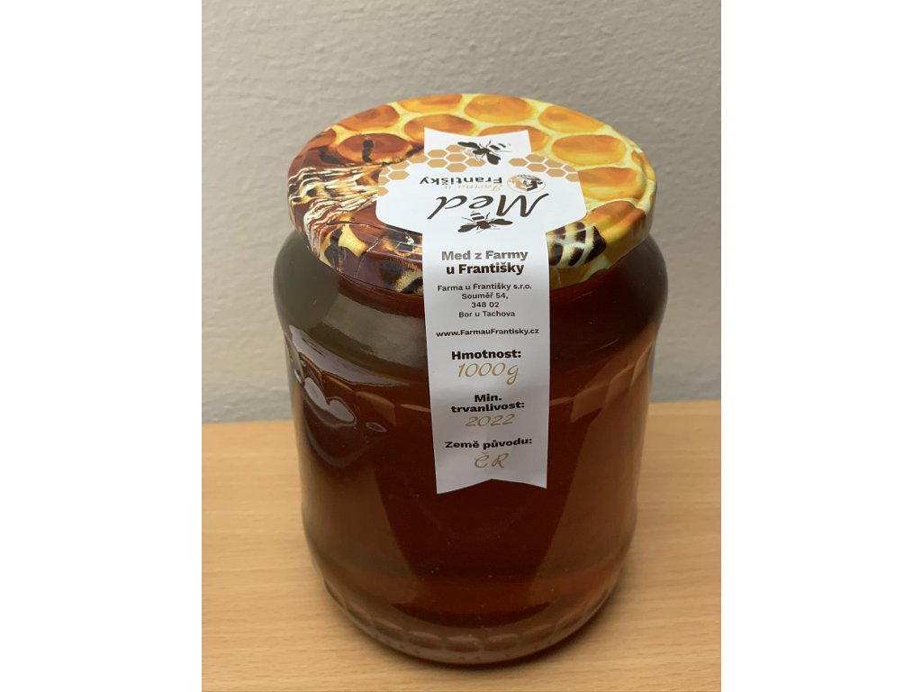 Lesní:medovicový med z Farmy u Františky