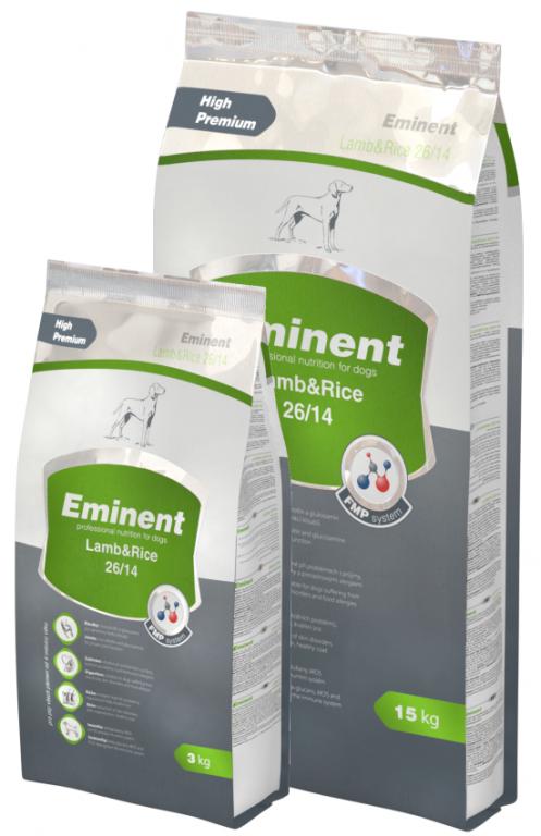 Eminent Lamb & Rice - Granule, 3KG