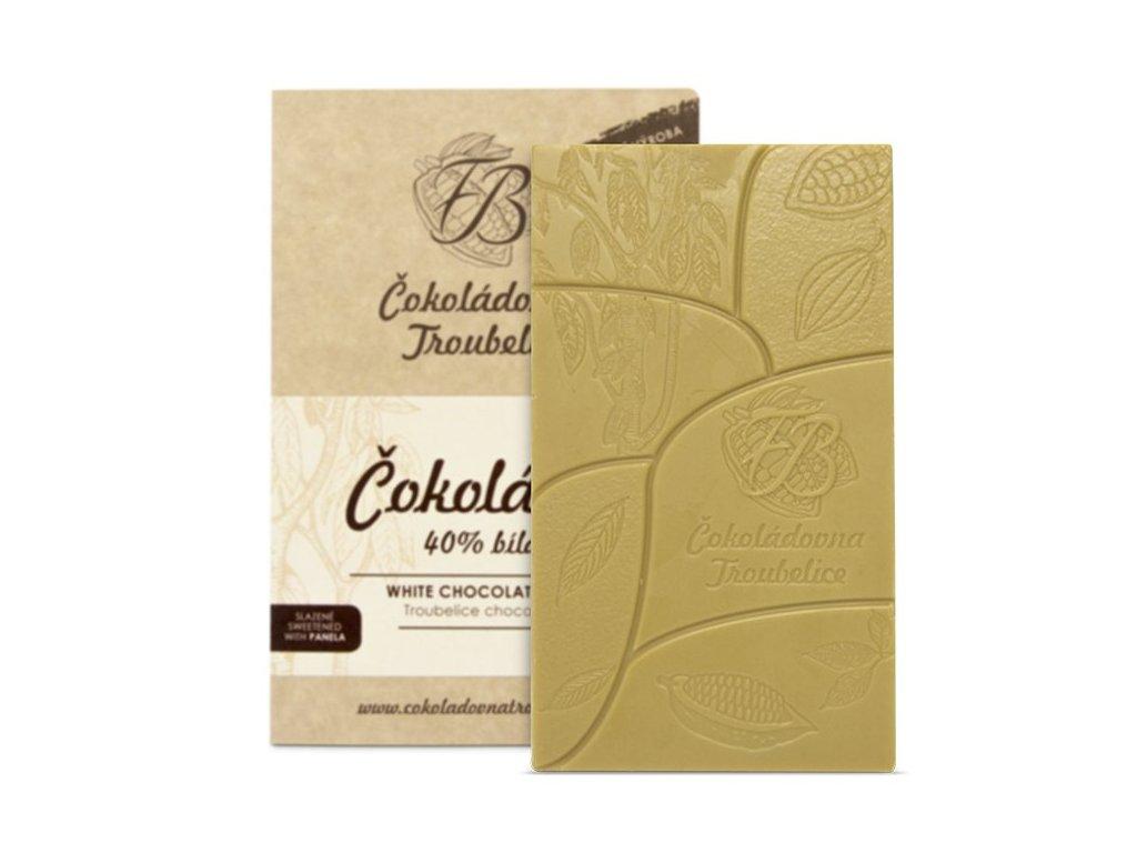 čokoláda bílá