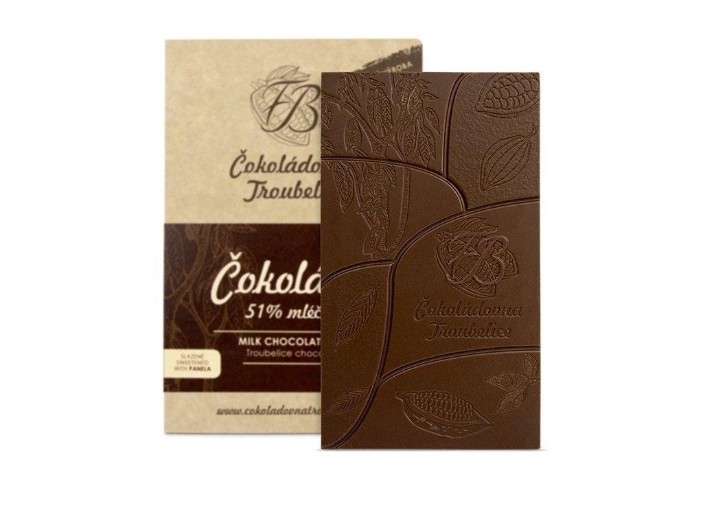 čokoláda mléčná