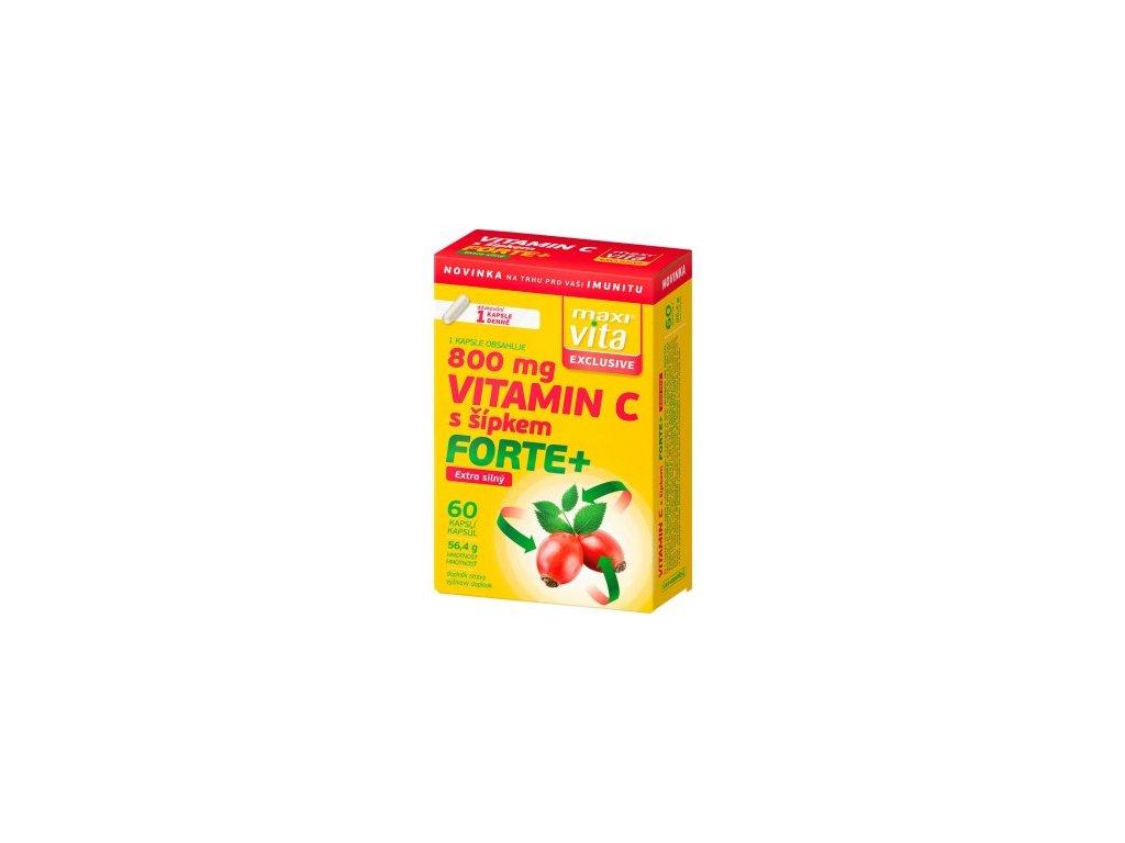 maxivita exclusive vitamin c s sipkem forte