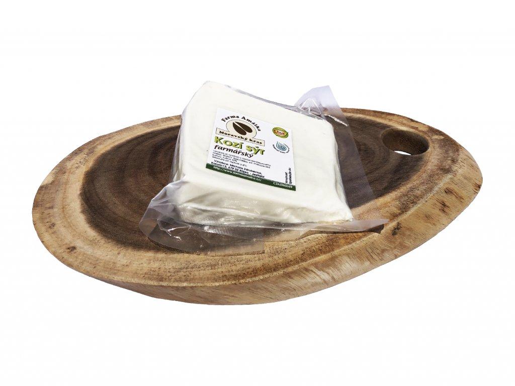 sýr kozí farmářský
