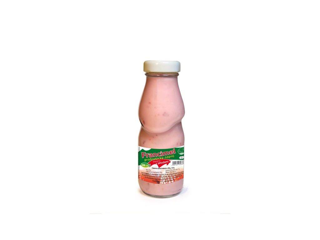 probioticky jogurtovy napoj francimel jahoda 200 ml