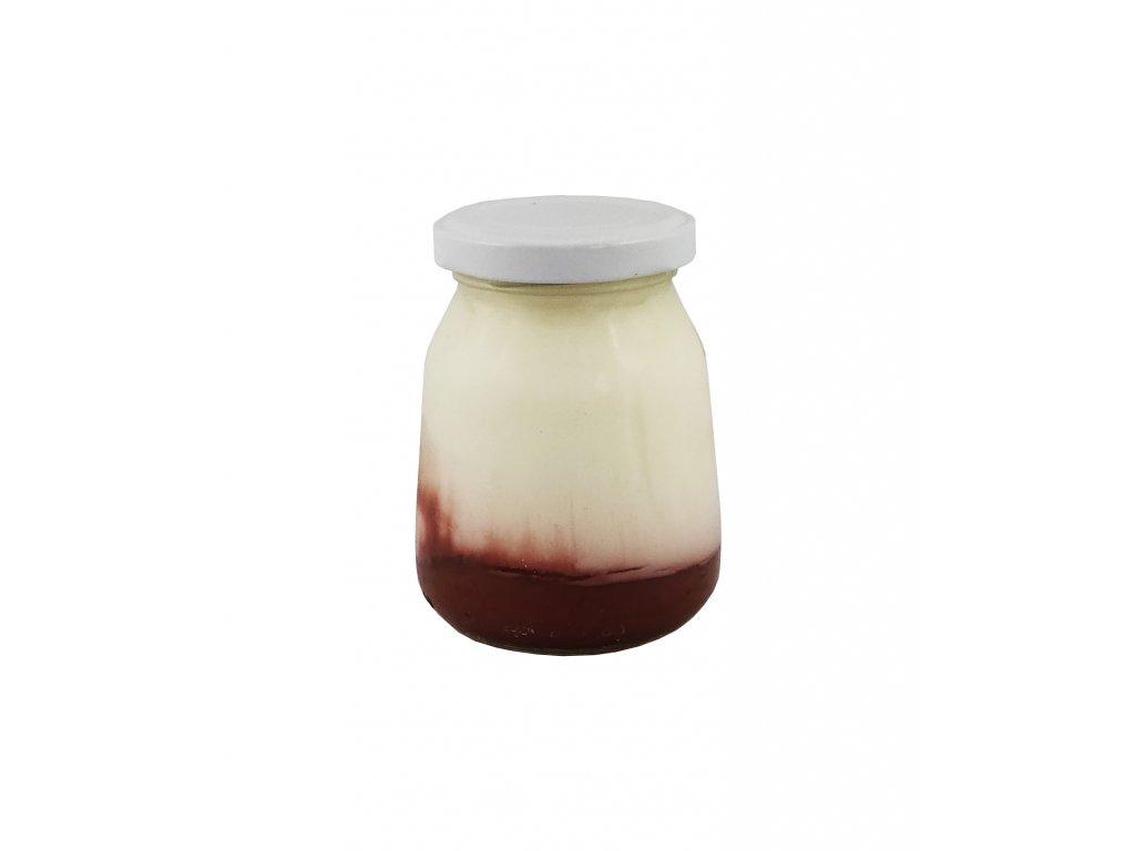 jogurt jahodový